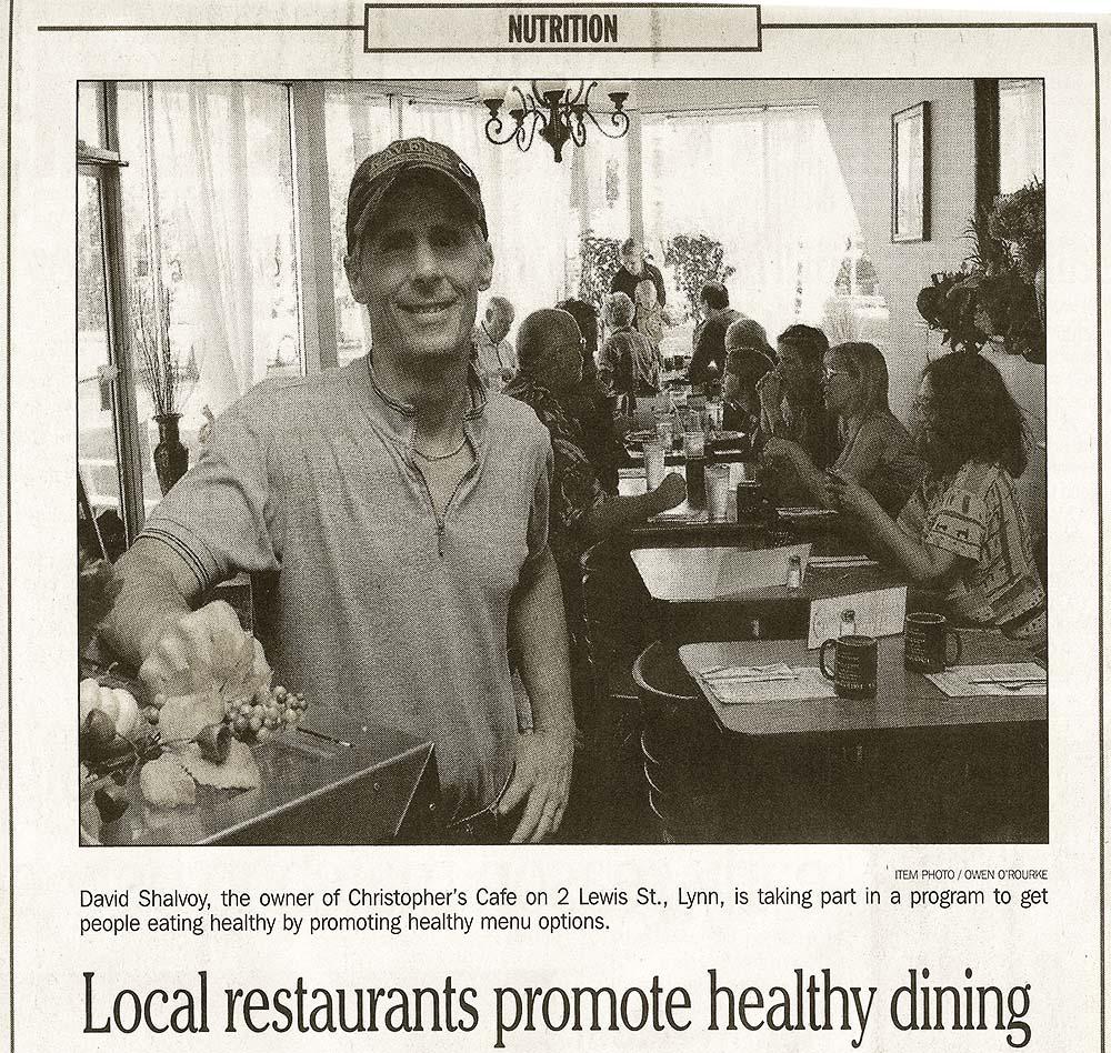 Healthy dining in Lynn